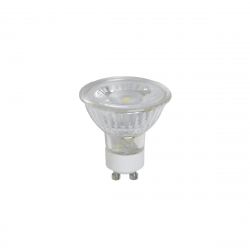 נורה זכוכית GU10 LED 5W L-GU10-GLASS-5W-WW